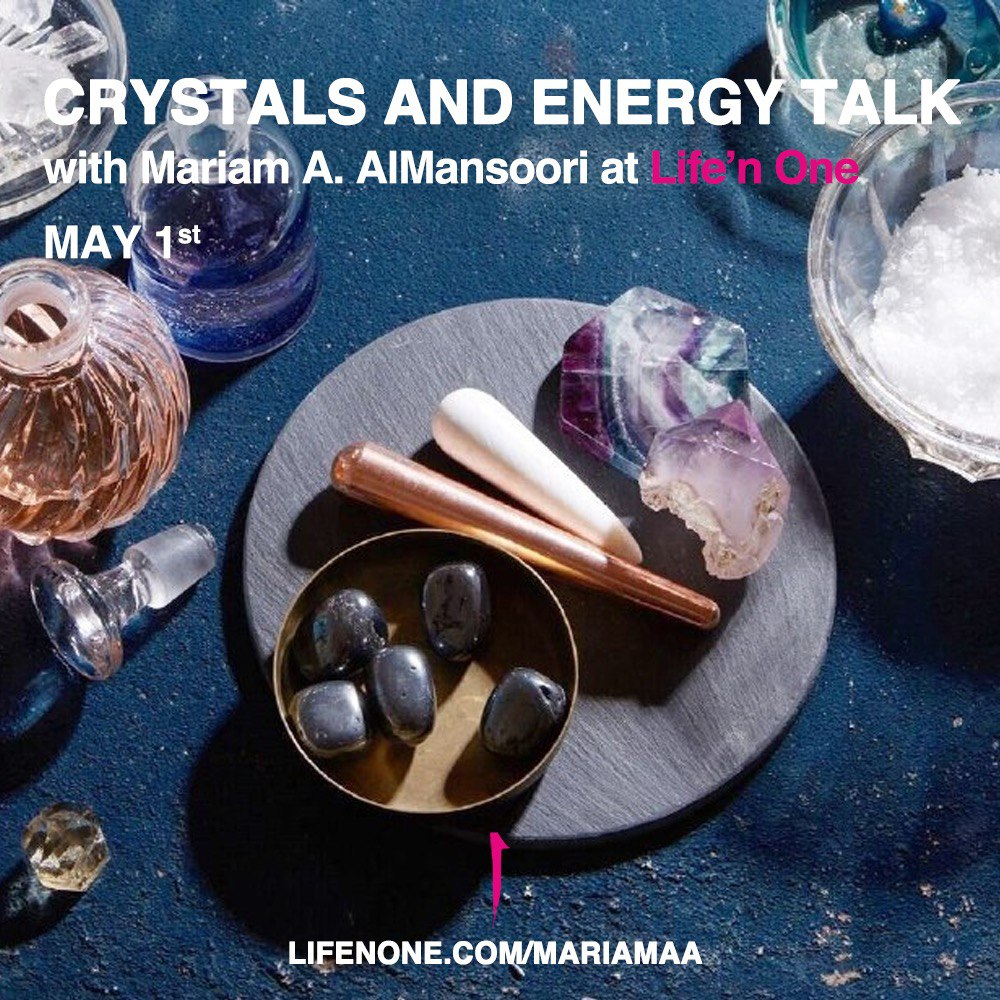 Crystals and energy talk