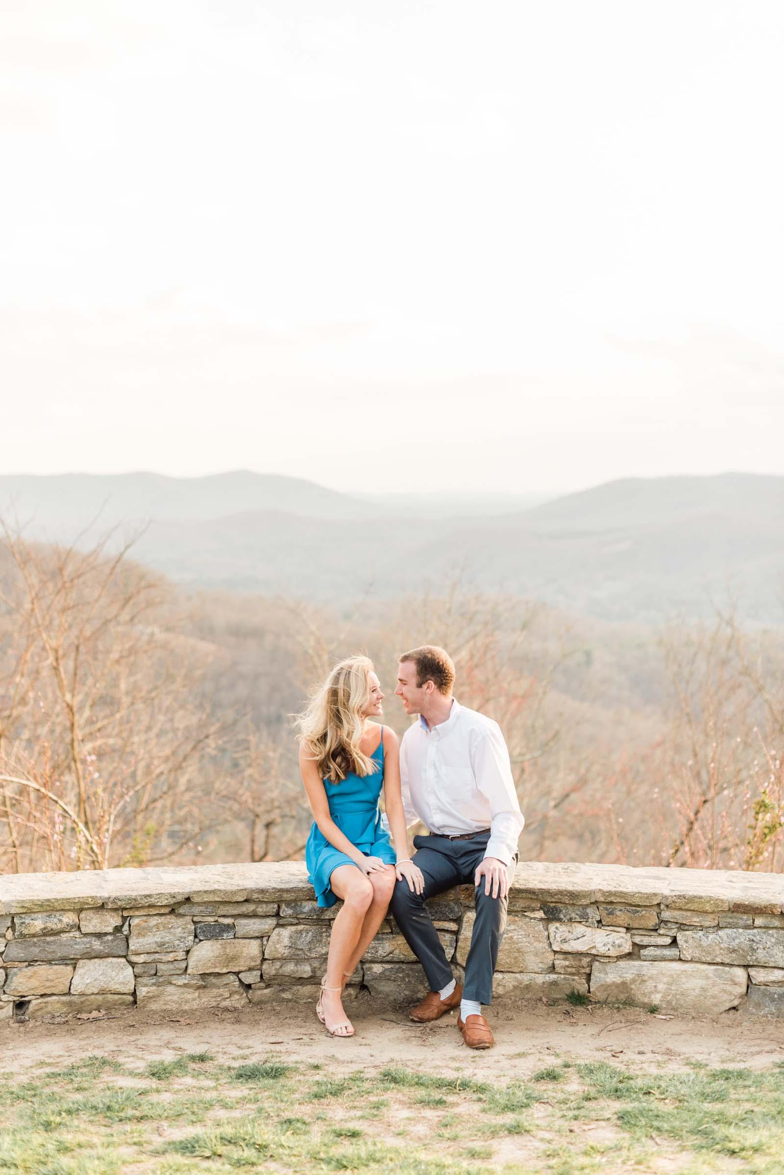 Sunset Mountain Engagement in North Carolina Morgan & Nathan Markie Walden Photography-10.jpg