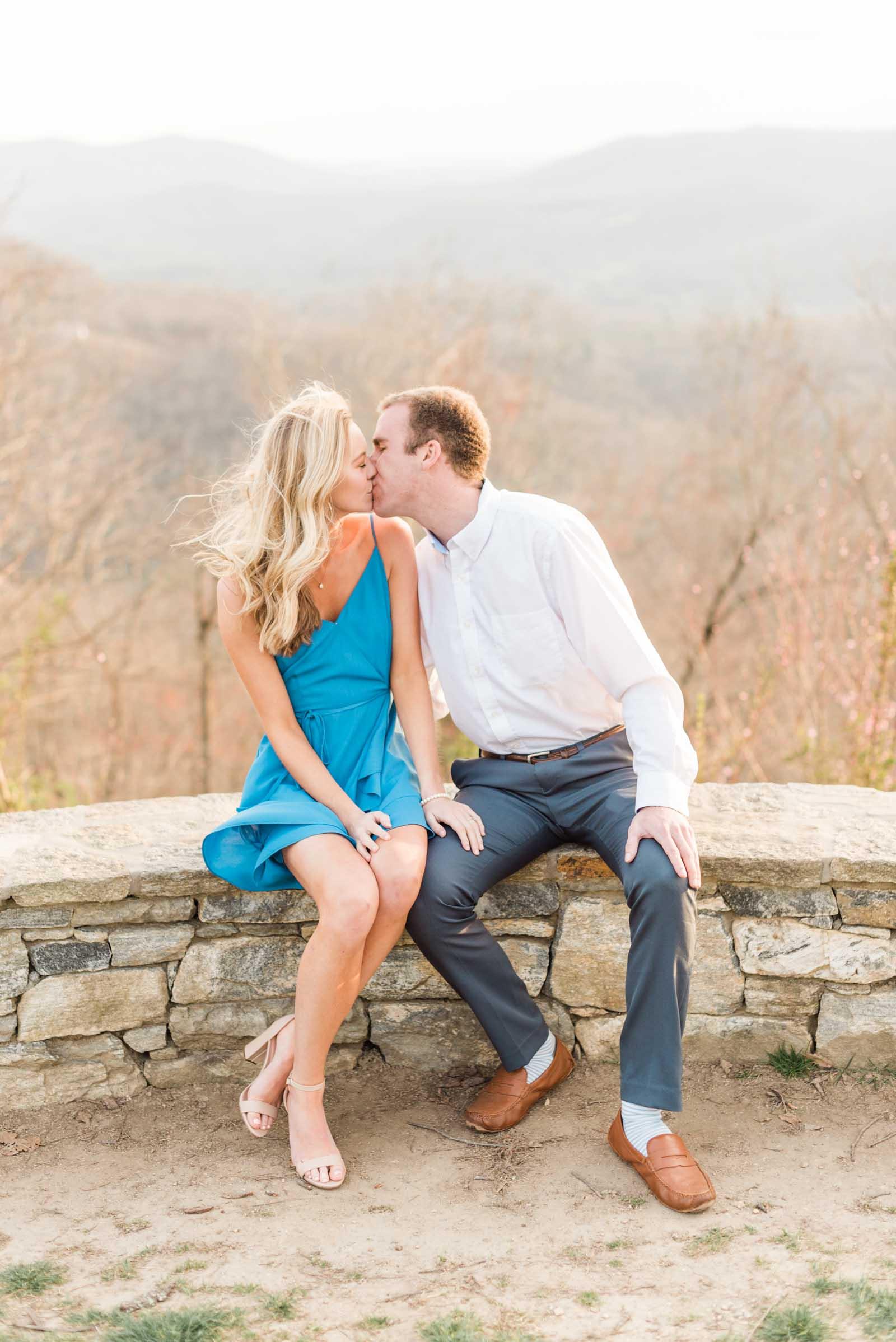 Sunset Mountain Engagement in North Carolina Morgan & Nathan Markie Walden Photography-11.jpg