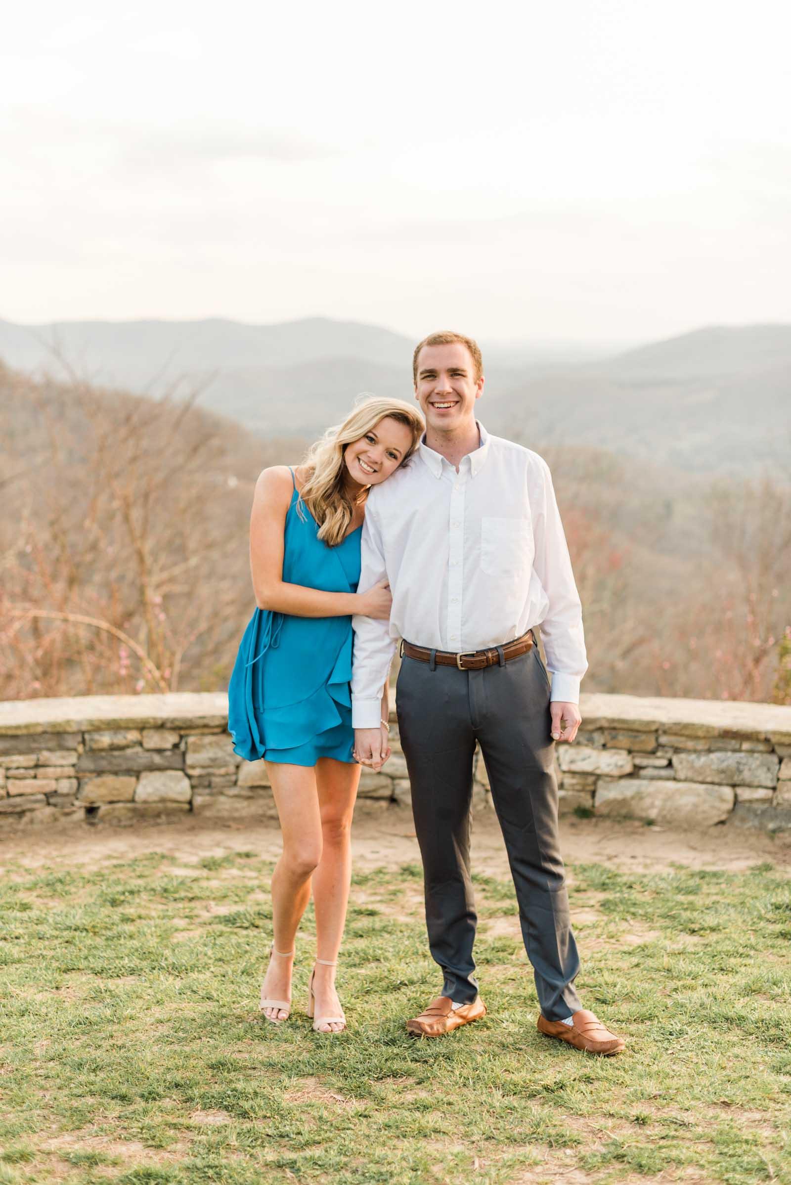 Sunset Mountain Engagement in North Carolina Morgan & Nathan Markie Walden Photography-13.jpg