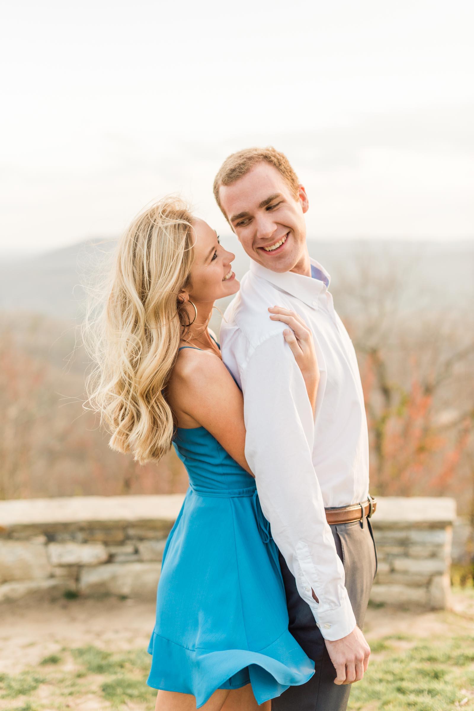 Sunset Mountain Engagement in North Carolina Morgan & Nathan Markie Walden Photography-15.jpg