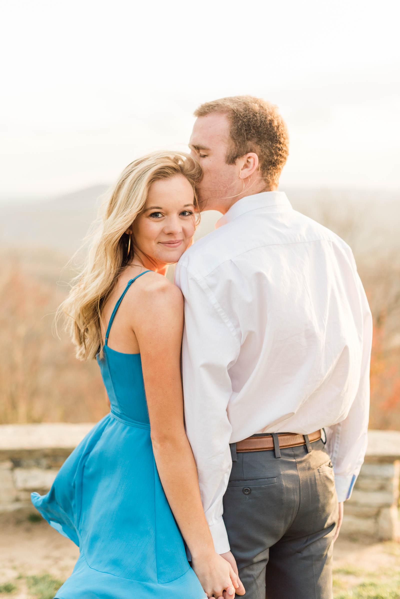 Sunset Mountain Engagement in North Carolina Morgan & Nathan Markie Walden Photography-17.jpg