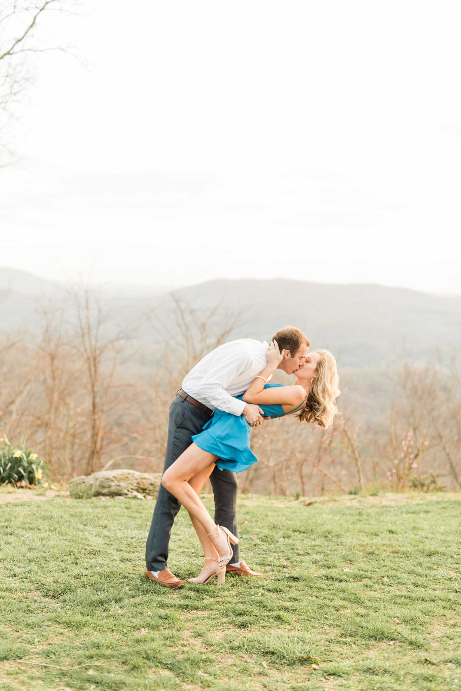 Sunset Mountain Engagement in North Carolina Morgan & Nathan Markie Walden Photography-27.jpg