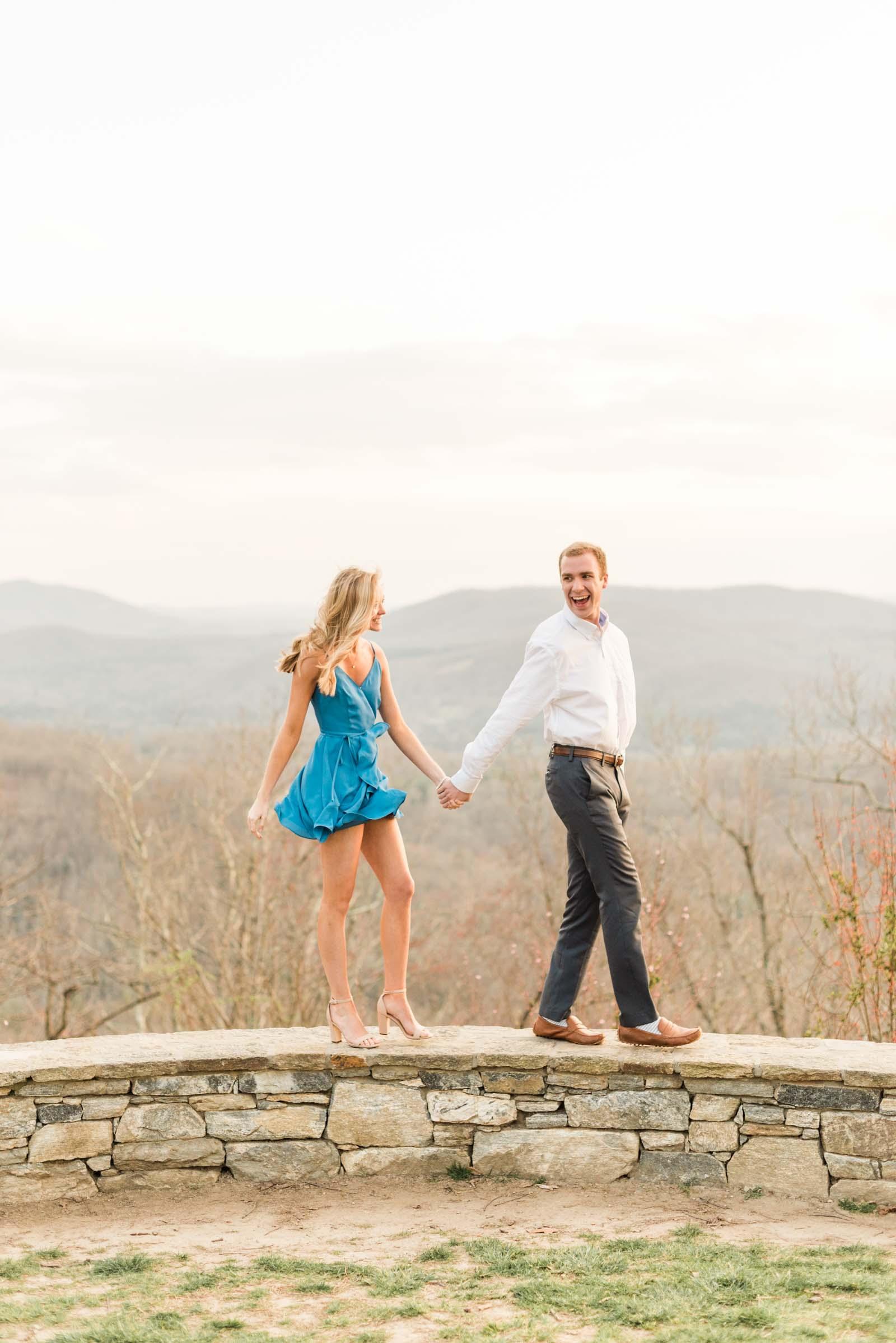 Sunset Mountain Engagement in North Carolina Morgan & Nathan Markie Walden Photography-30.jpg