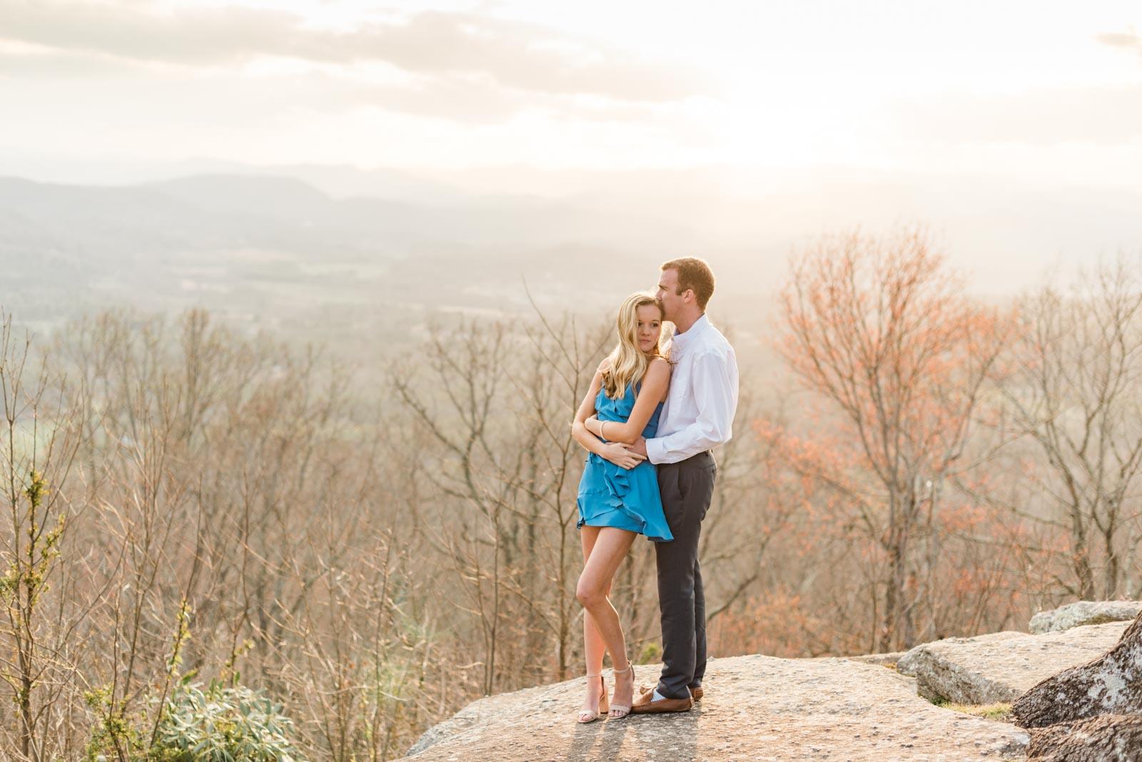 Sunset Mountain Engagement in North Carolina Morgan & Nathan Markie Walden Photography-19.jpg
