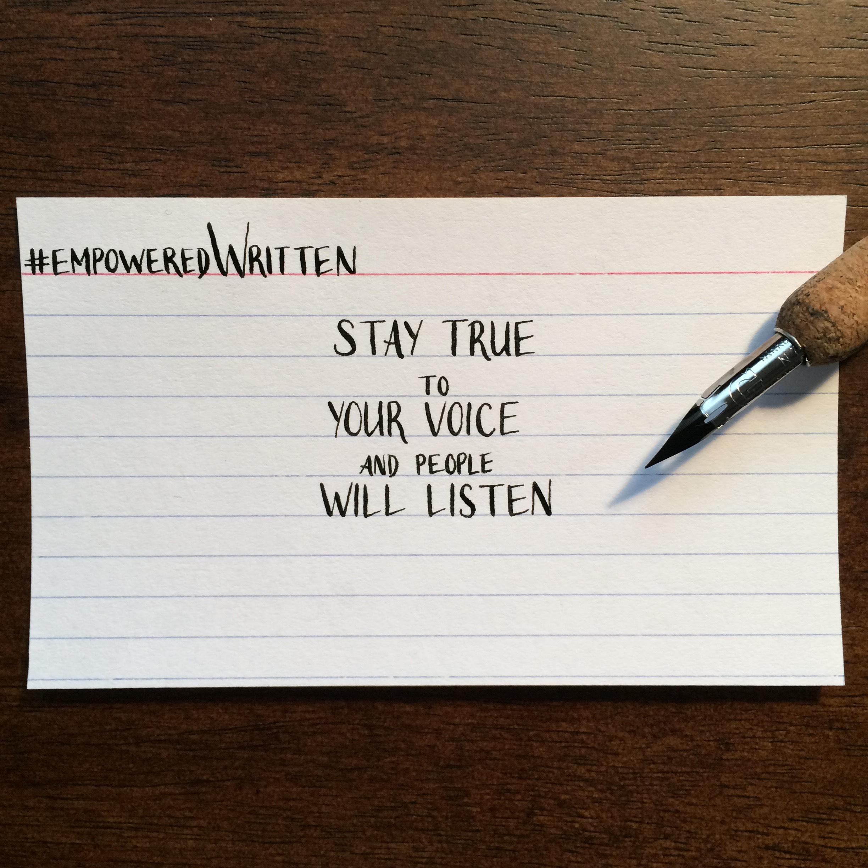 Written Paper Goods - Meg Keene empoweredWritten