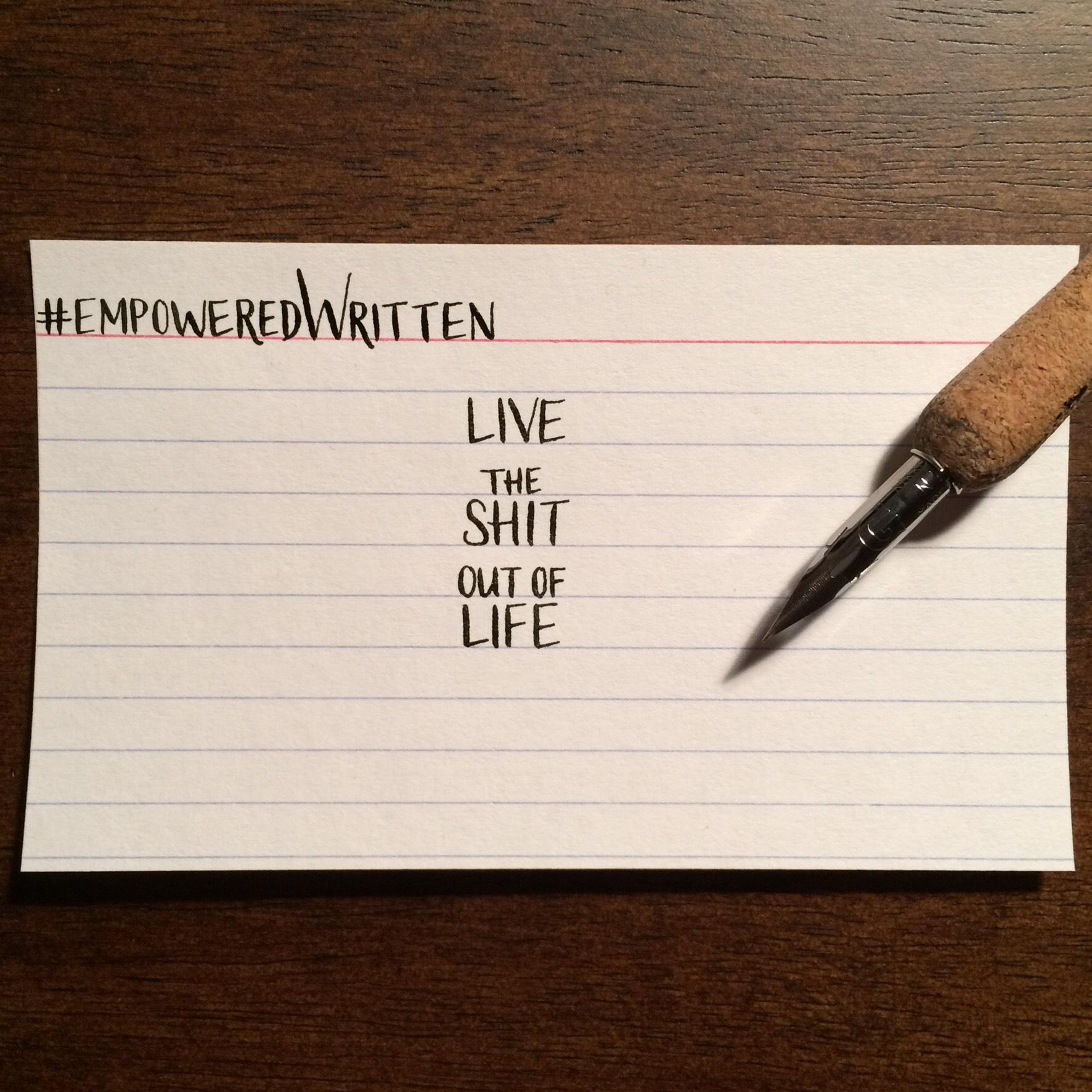 Written Paper Goods - Emma McGowan empoweredWritten