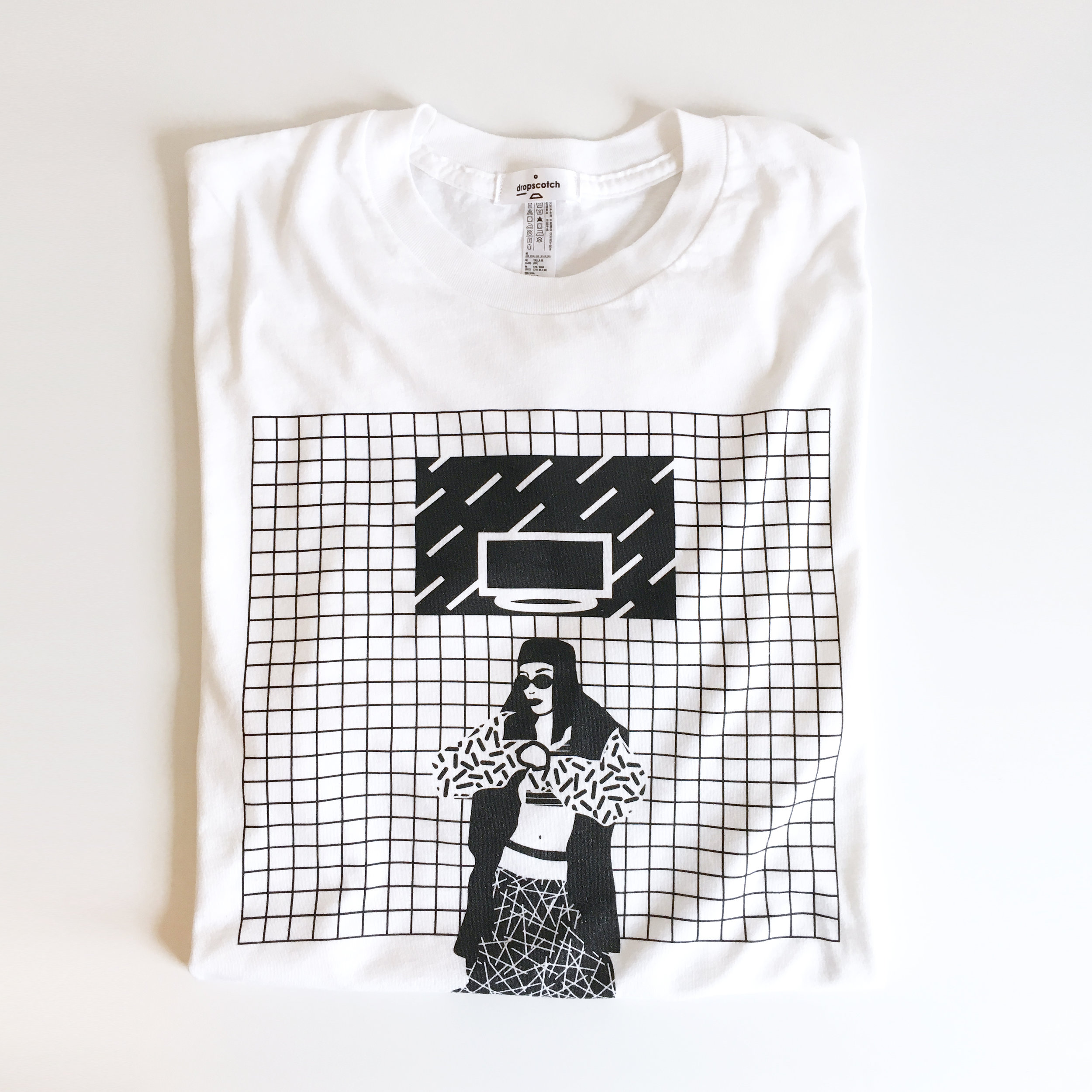 Aaliyah-white-tshirt-rnb-dropscotch-cool-illustration-folded.jpg
