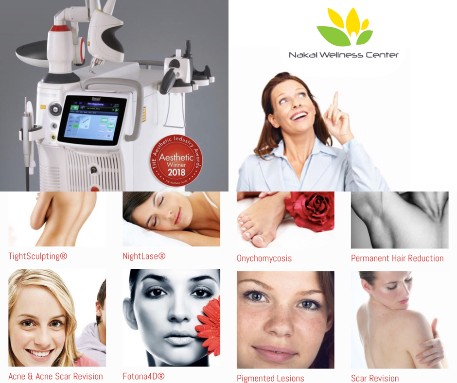 These are a few of our most popular services! We recommend you contact us for a free treatment consultation to match you with our FDA approved Laser Options. Fotona Laser, CO2 Fraxel.