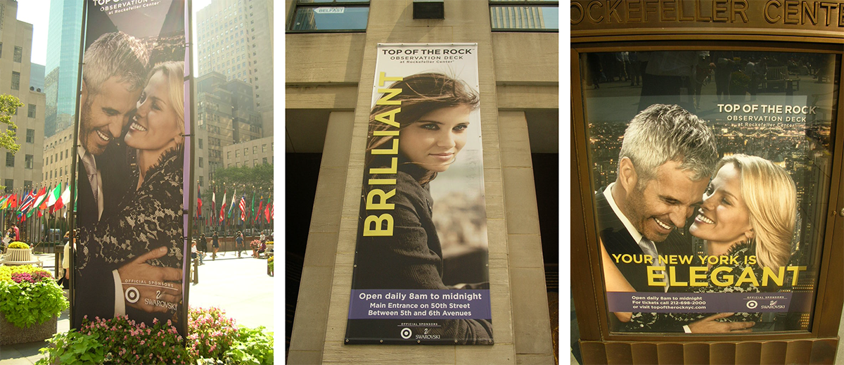 On-Campus Signage at Rockefeller Center