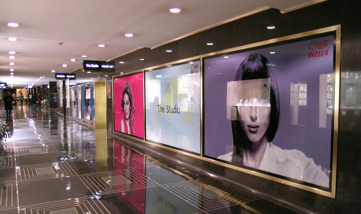 Wella at Rockefeller Center (Vinyl Window Clings)