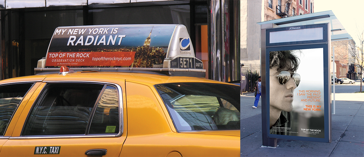 Outdoor and Taxi-Top Signage