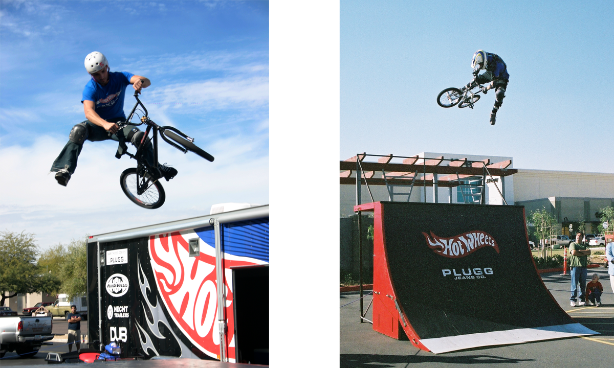 Plugg Unleashed Tour featuring the Hot Wheels BMX Bike Team