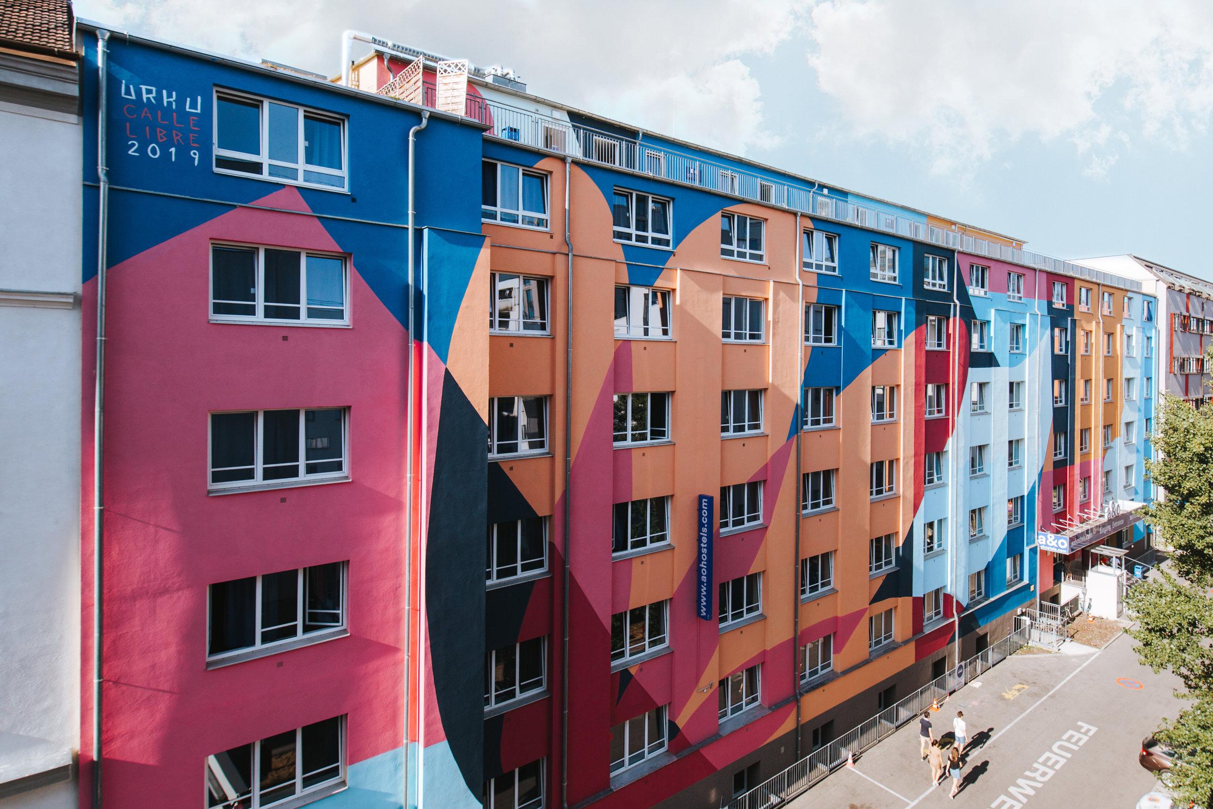 Calle Libre mural festival - Vienna - 2019