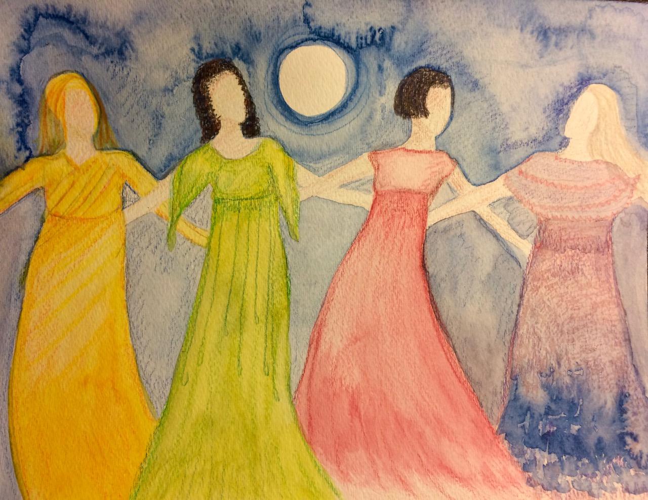 Wise Women by Jess Kovach