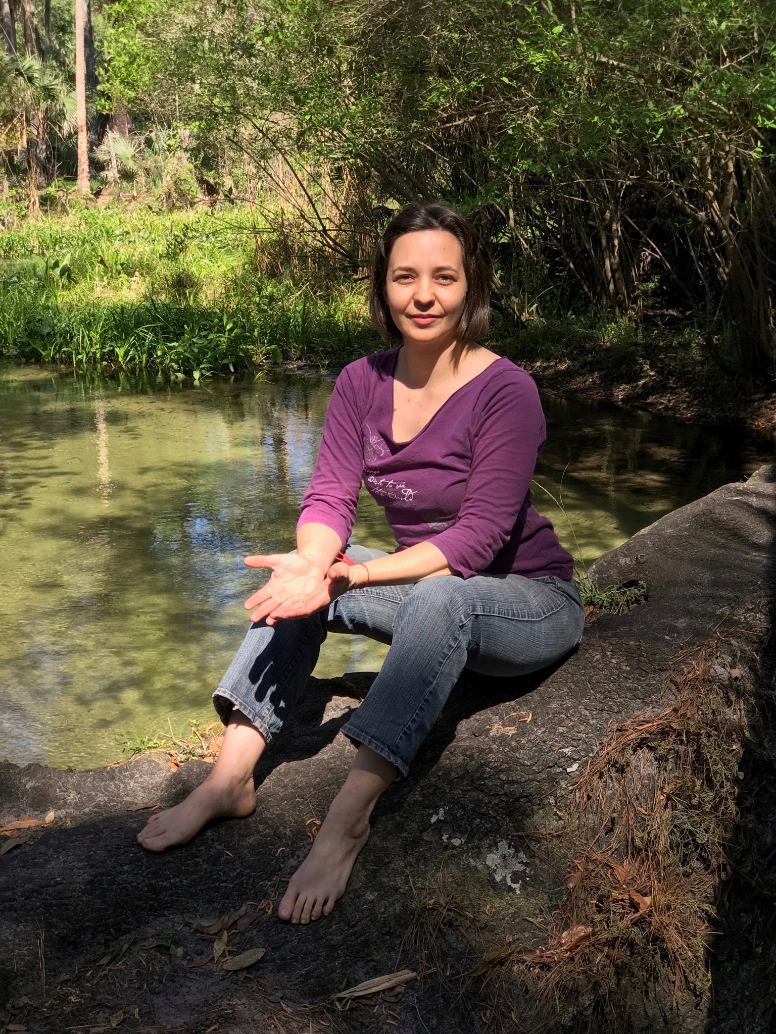 Jess Kovach in Wekiva Springs.jpg