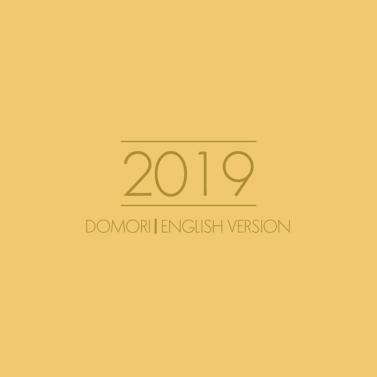 Catalogo Domori 2019 INGLESE