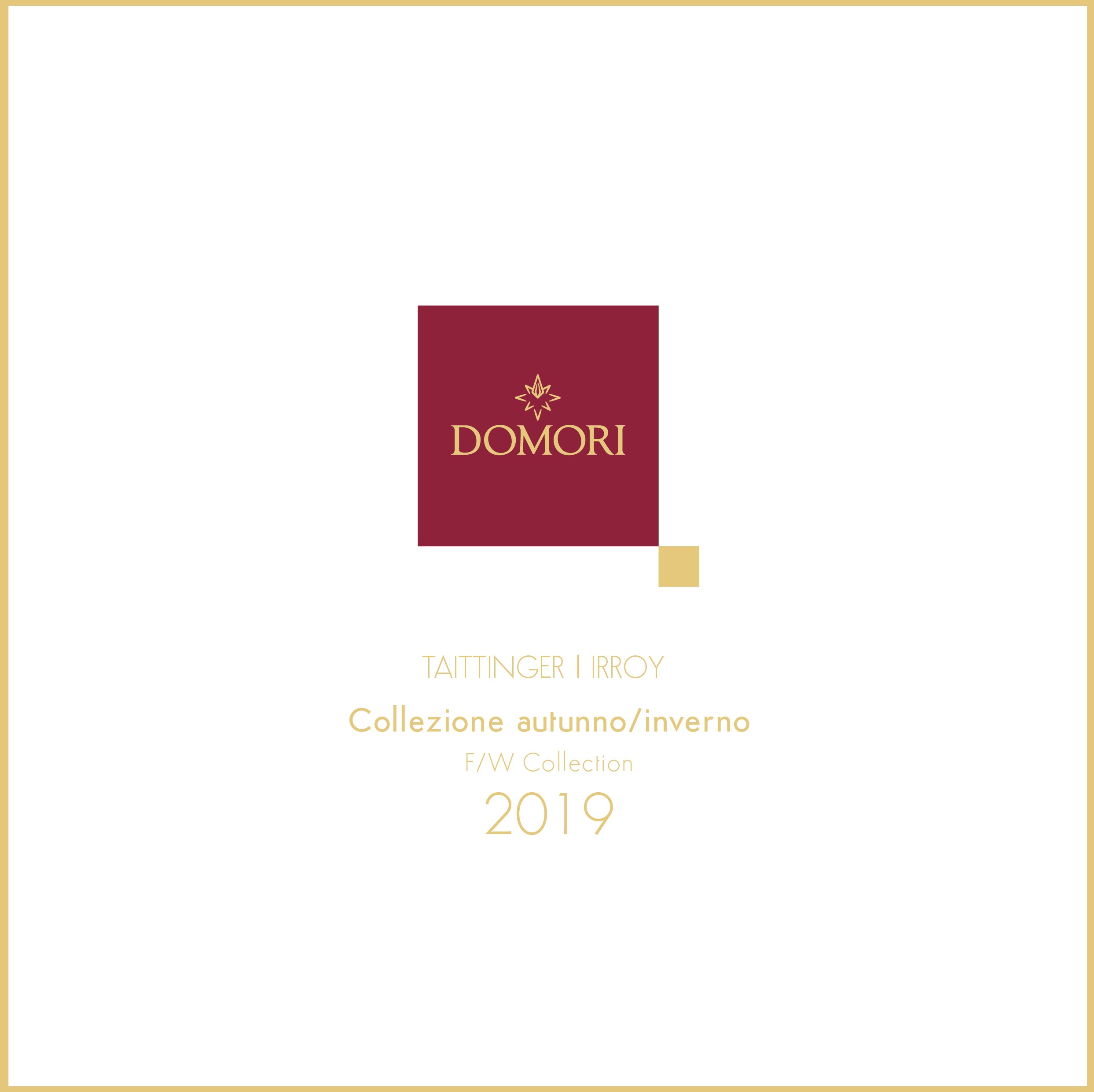 Catalogo Taittinger - Irroy 2019