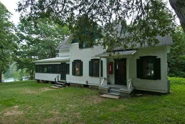 Birch Cabin, Lake Champlain