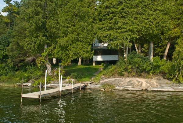 Pine Cabin, Lake Champlain