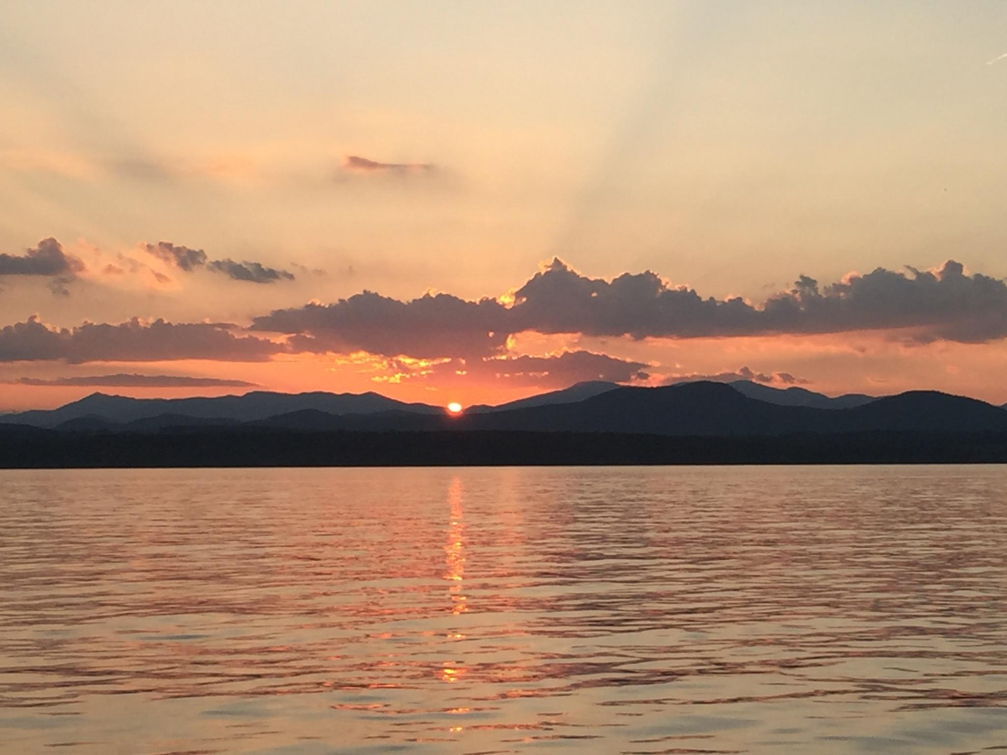 Sunset View from Garden Island