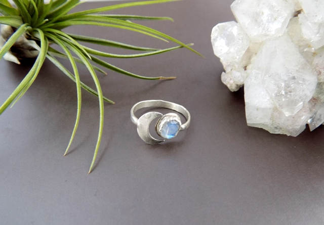 moonstone and crescent moon silver ring.jpg