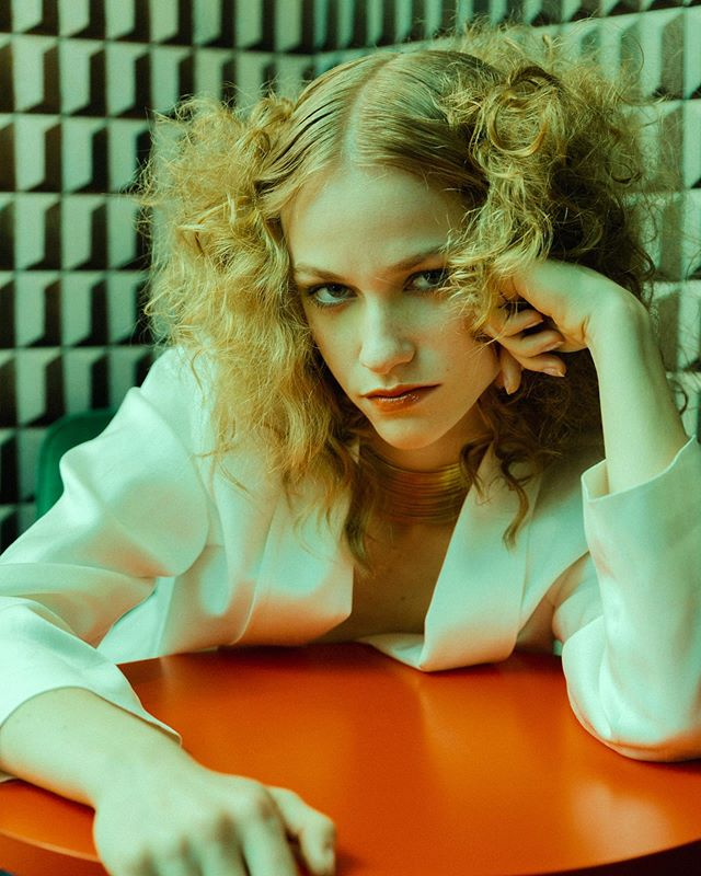 "📸 by @clara.parmigiani in Issue 14 ""Extra Credit"" featuring EVA @evathaeva OUT NOW⁠"