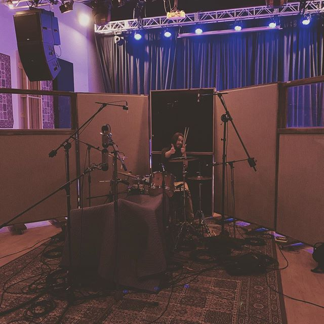 Another Thanksgiving spent recording kickass drums with kickass people . . . . #music #producer #studio #recording #sound #engineering #mixing #writing #protools #edit #vancouver #canada #art #artist #love
