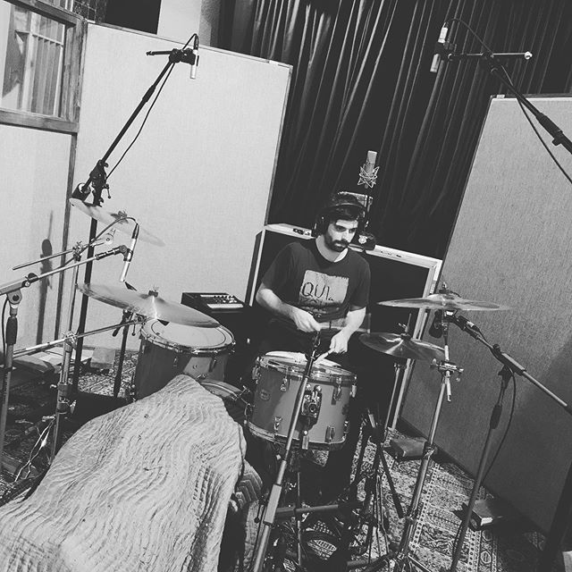 A fantastic evening recording drums with @marco.marin.music . . . . #music #producer #studio #recording #sound #engineering #mixing #writing #protools #edit #vancouver #canada #art #artist #love
