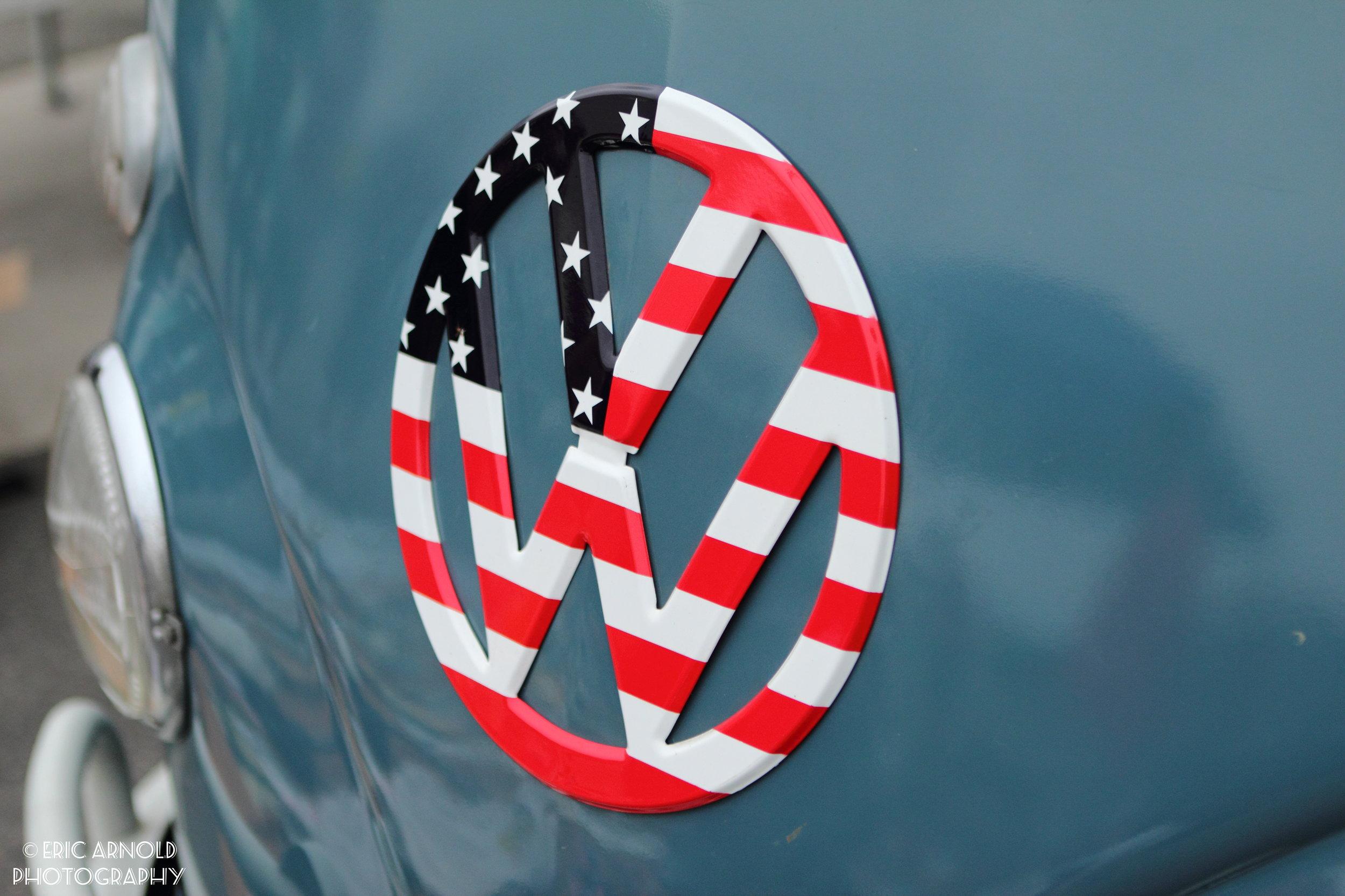 USA VW Emblem