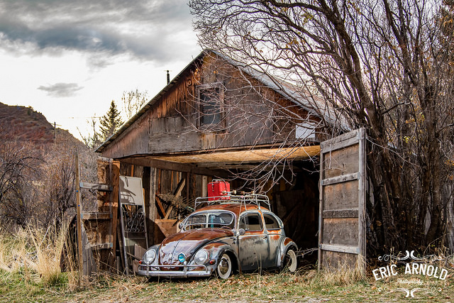 The  FIRST EVER  Patina car to be featured in Hot VWs Magazine