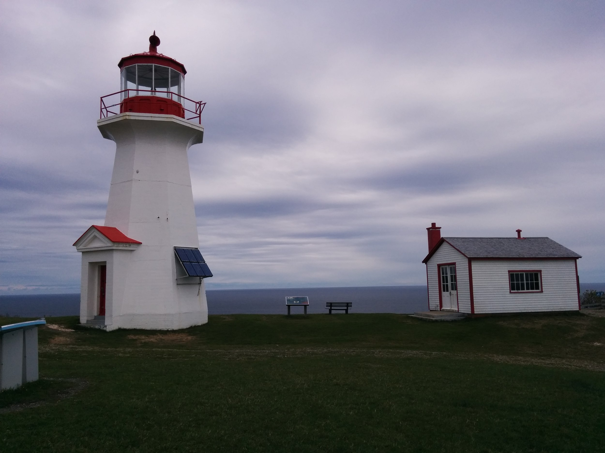 Lighthouse at Cap Gaspe