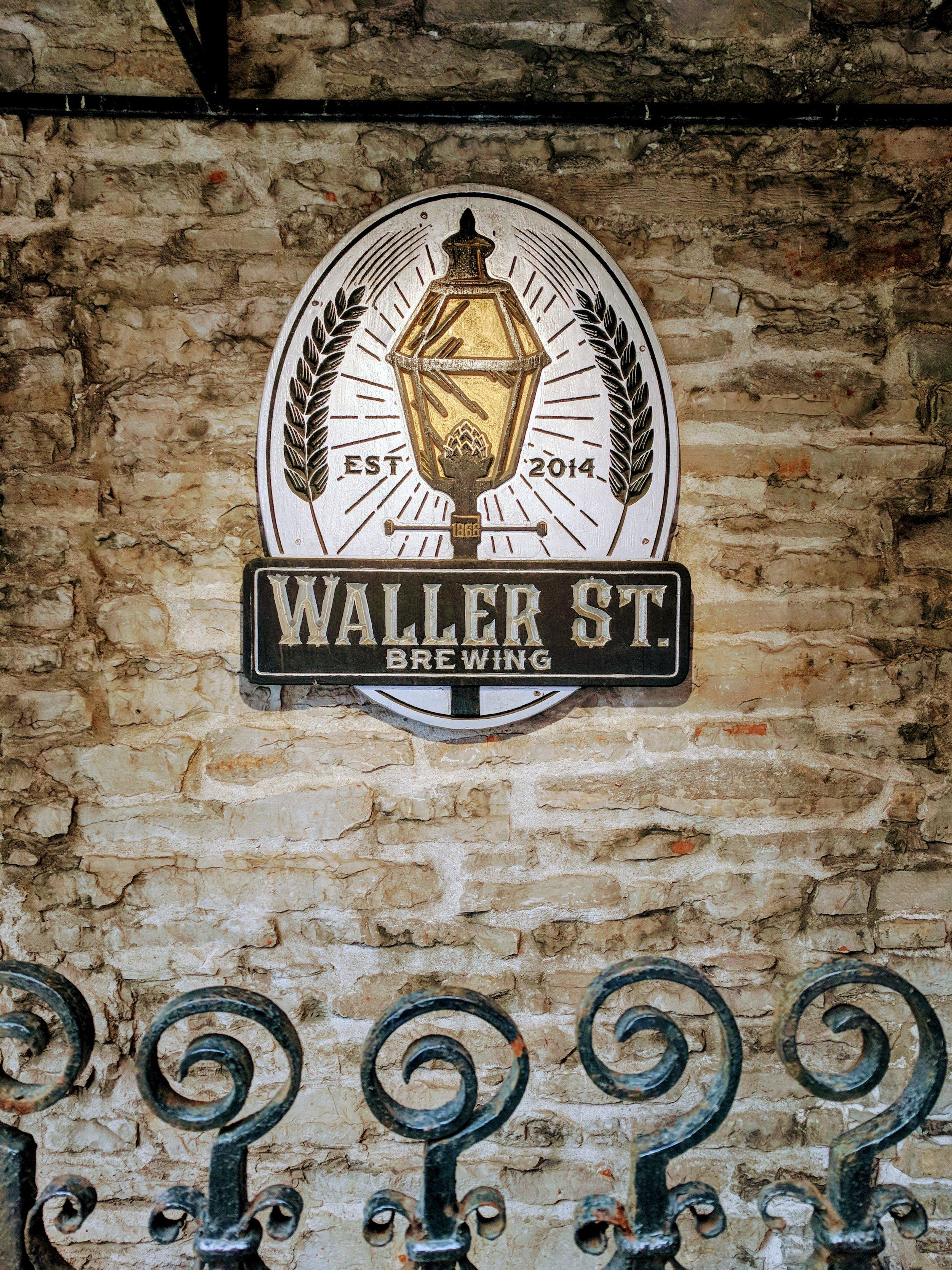 Not so secret entrance to the Waller St Speakeasy