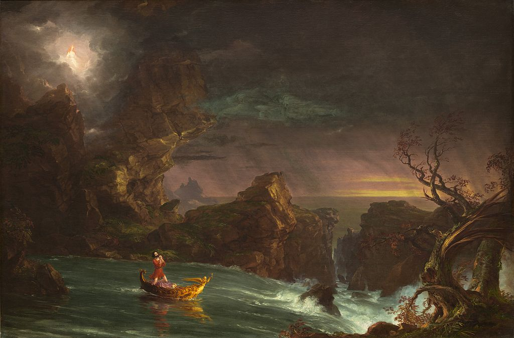 The Voyage Of Life - Old Age by Thomas Cole