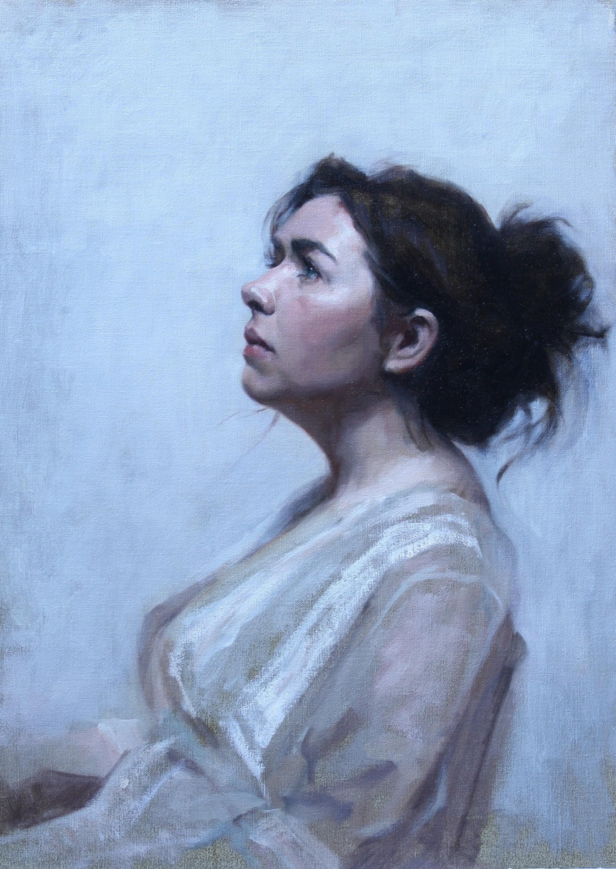 'Stephanie' 60 cm x 50 cm Oil on linen
