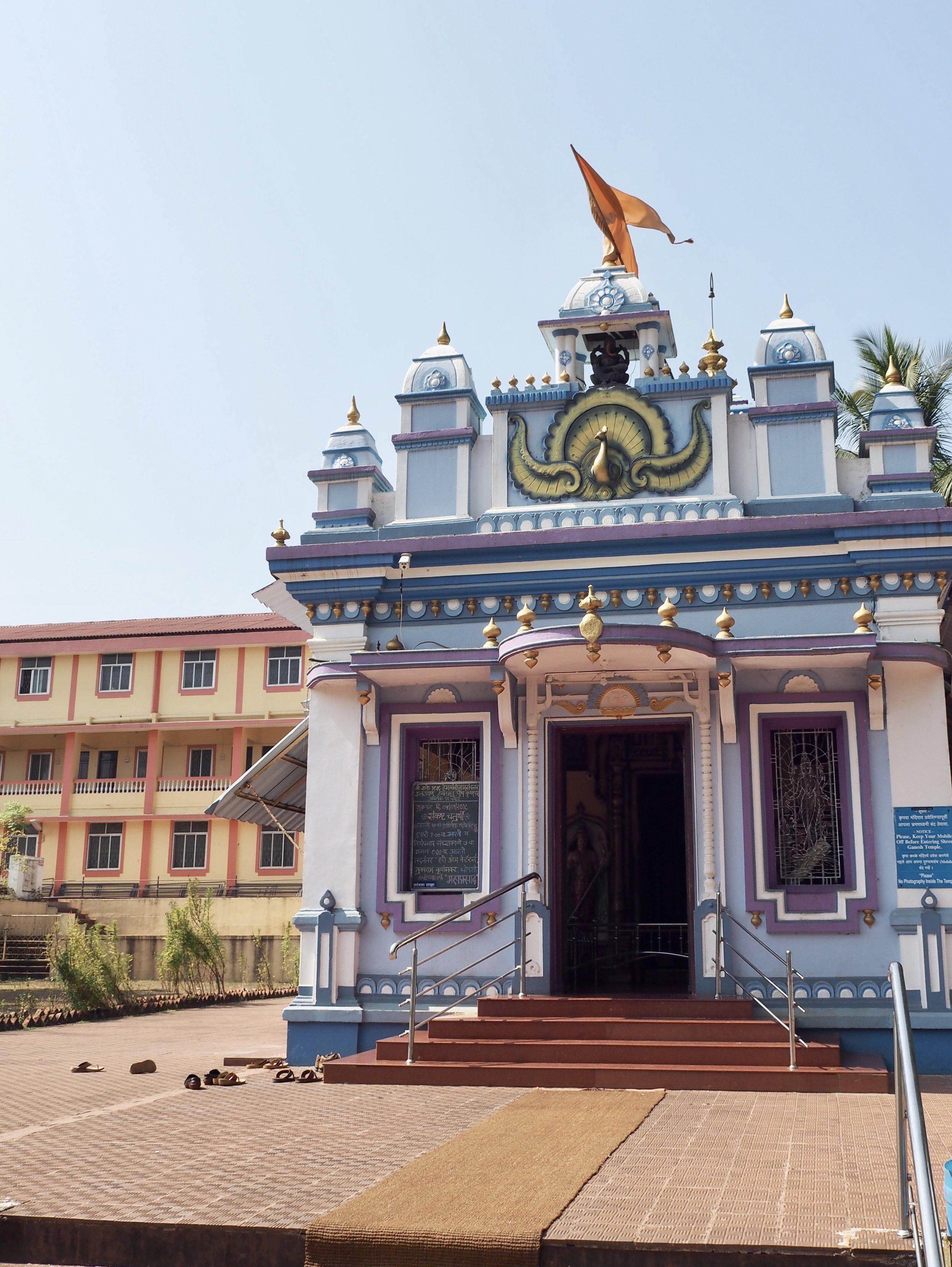 Hindulainen temppeli Goa