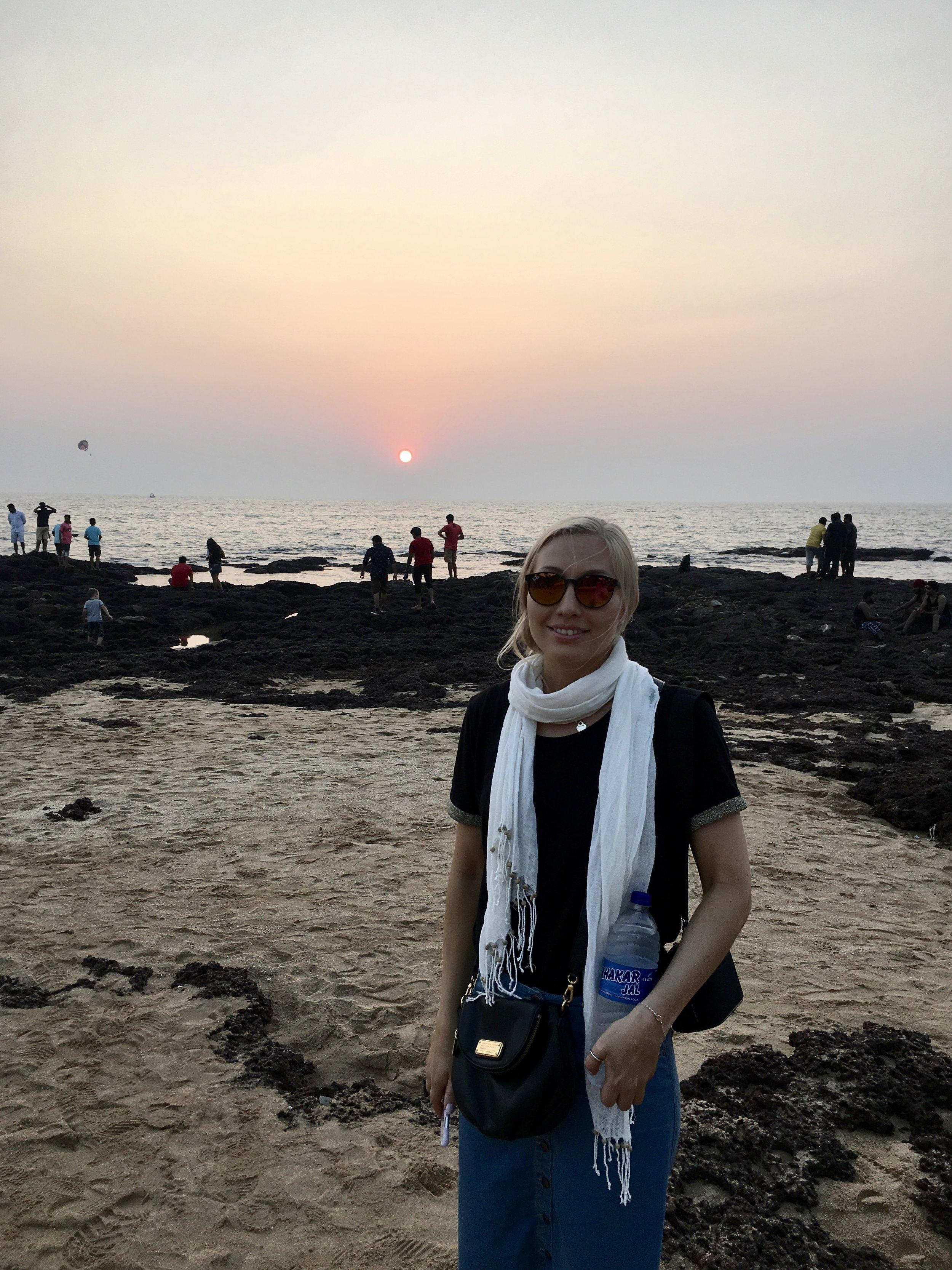Auringonlasku, A  rambol Beach