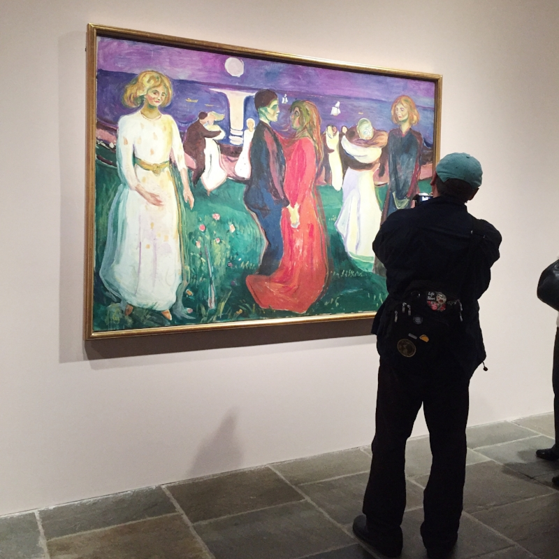 """Edvard Munch, """"The Dance of Life,"""" 1899 at The Met Breuer."""
