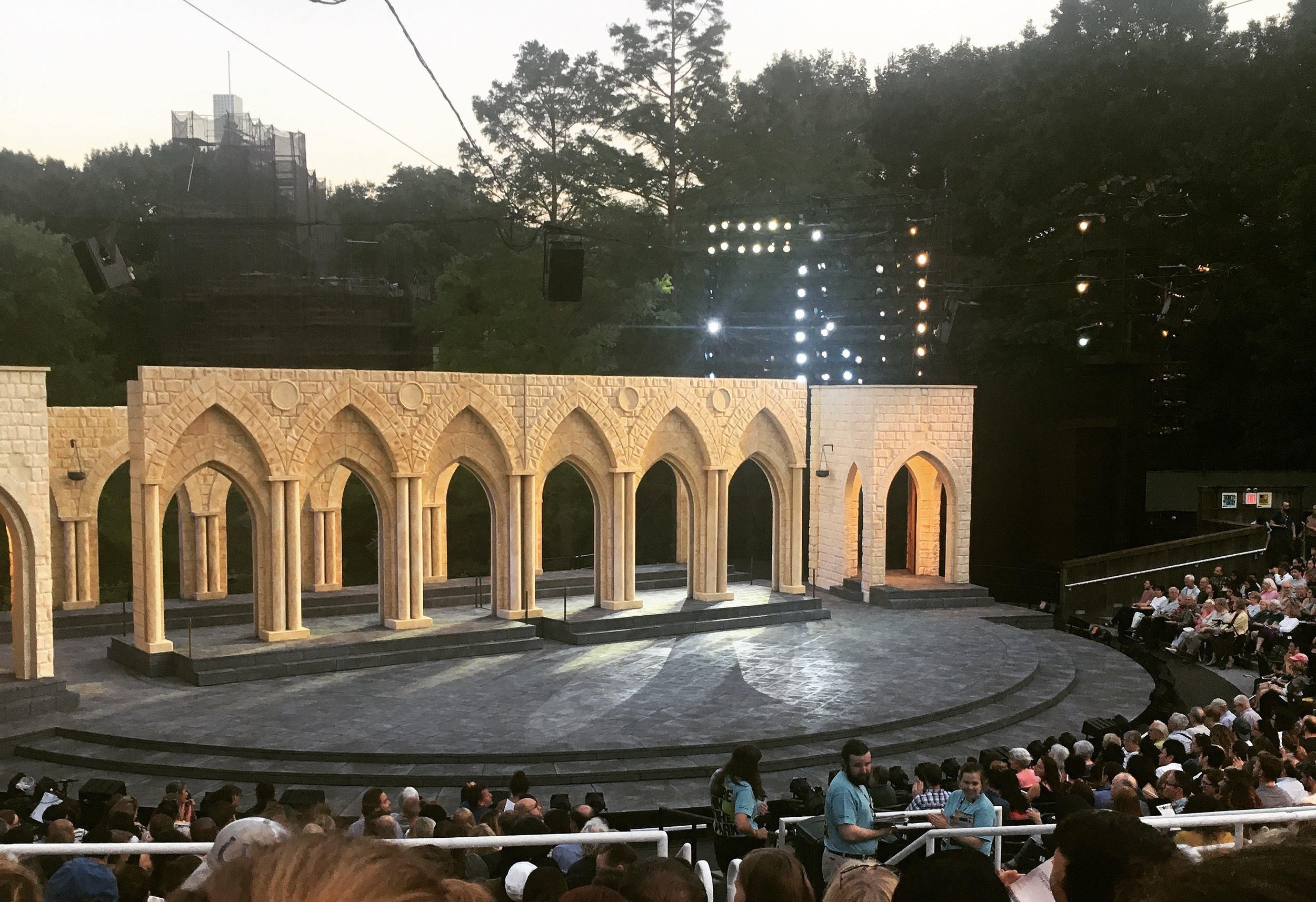 """""""Othello"""" at Shakespeare in the Park presented by The Public Theater. Photo Credit: Mara Vlatkovic"""