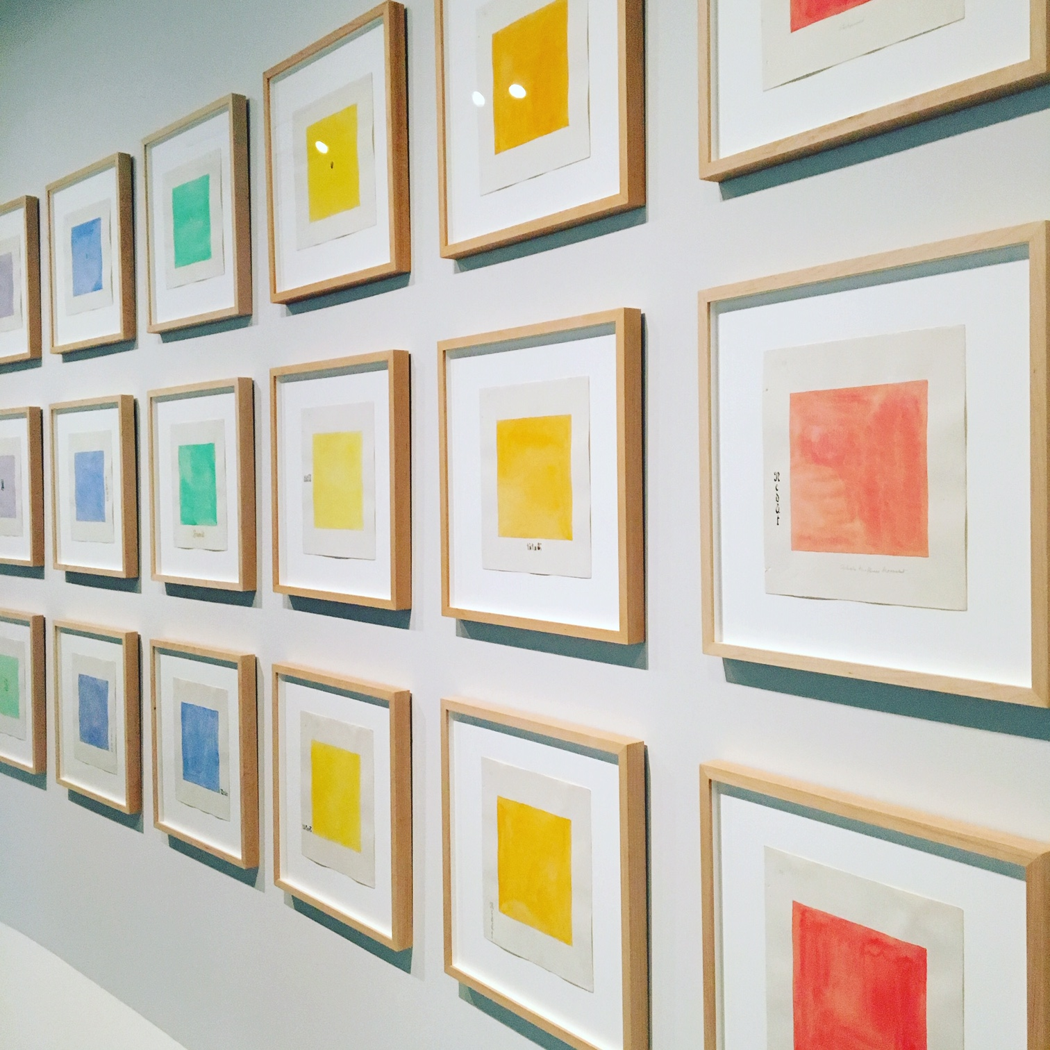 Hilma af Klint: Paintings for the Future at the Guggenheim Museum, on view through April 23; Photo cred: Mara Vlatkovic