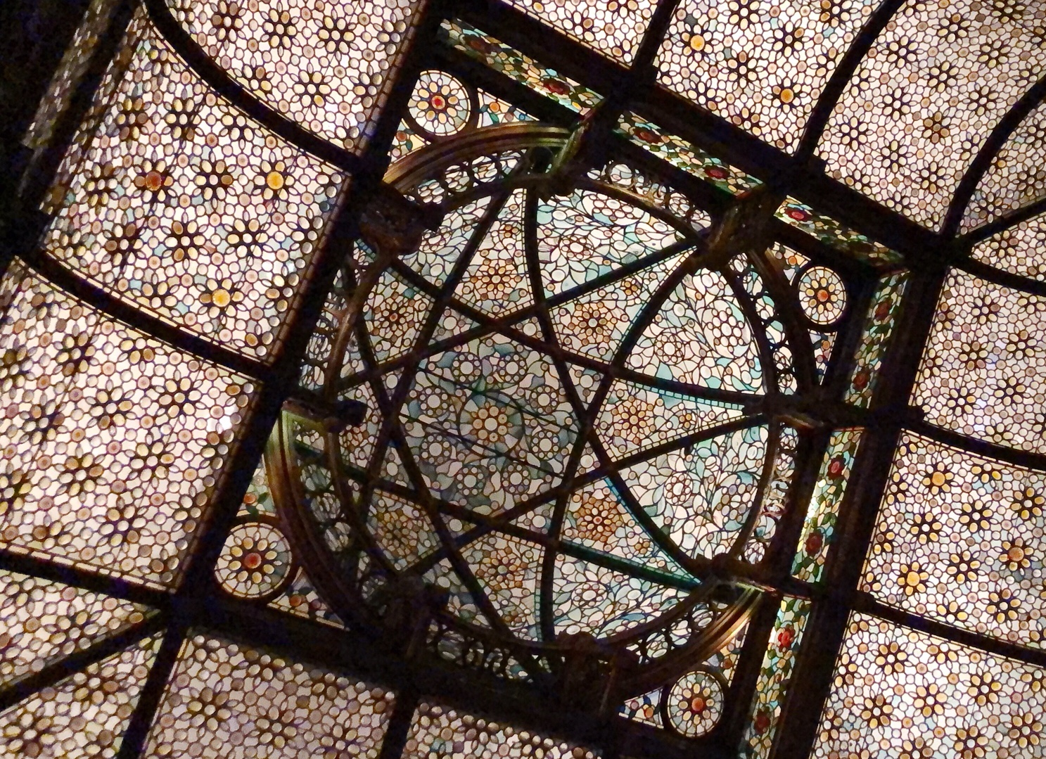 Ceiling of the National Arts Club. Image Credit: YPA