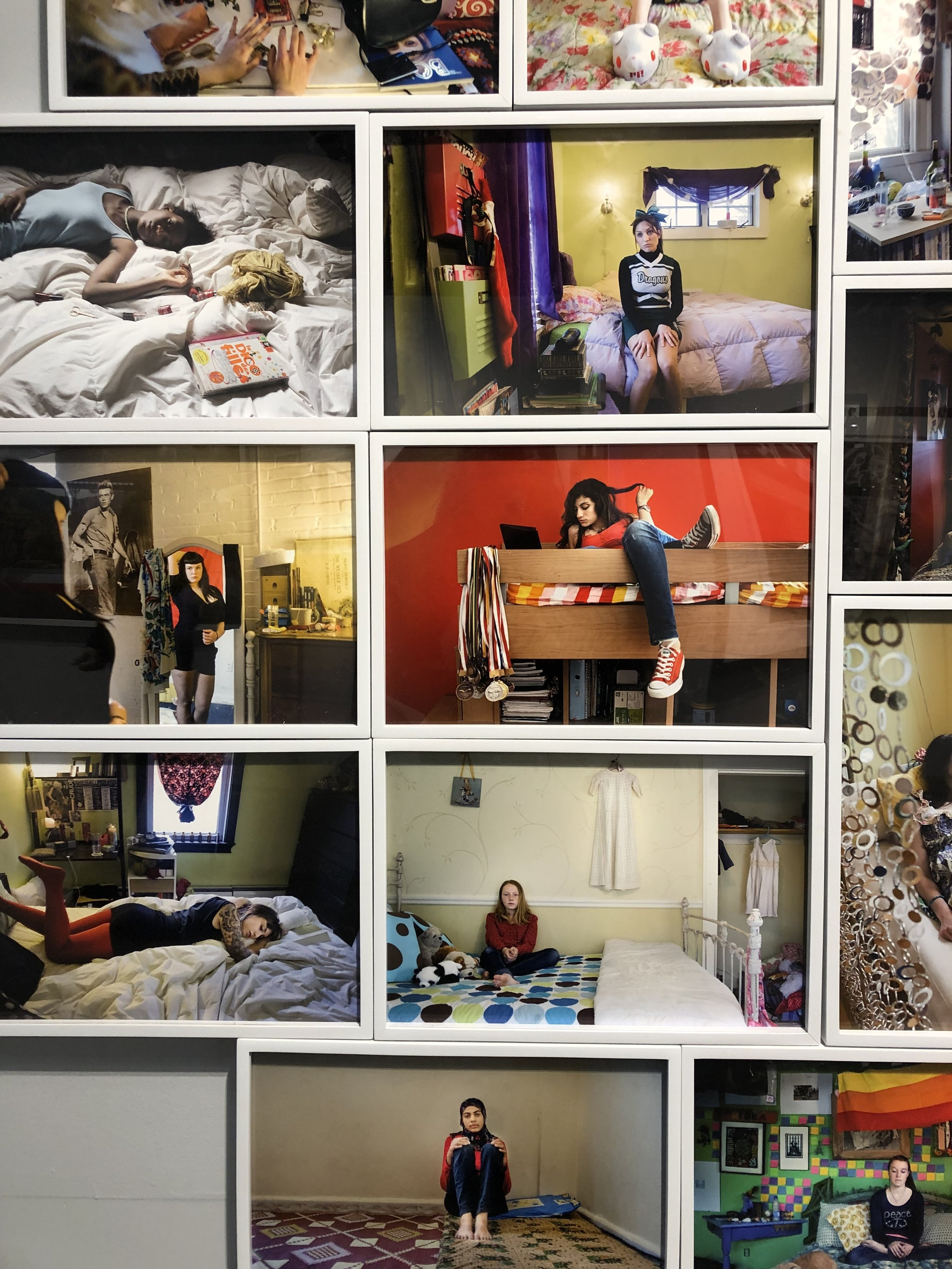 "Rania Matar, "" A Girl and Her Room- 50 Photographs"", 2009,  on view at AIPAD  this weekend."