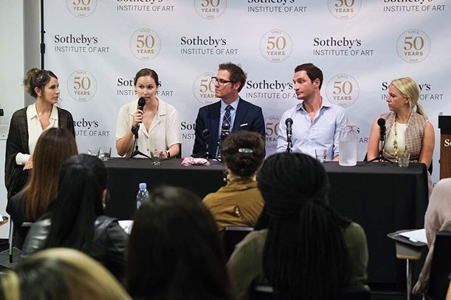 Still reeling from last night's Job Hunting in the Arts panel and networking event co-hosted with @sothebysinstitute and featuring amazing panelists, Ashley Robinson, Molly Martin from @nyfacurrent, Tim Cynova from @fractured.atlas, Josie Hines from @artfrankly, and Hillary Burchfield, from Hillary Burchfield LLC.  Keep a look out for our resource roundup on the conversation coming soon to the ypa blog! Can't wait till then? Visit our story archives for a few key tips from the panel! #professionaldevelopment #jobhunt #nycarts #artsworkers