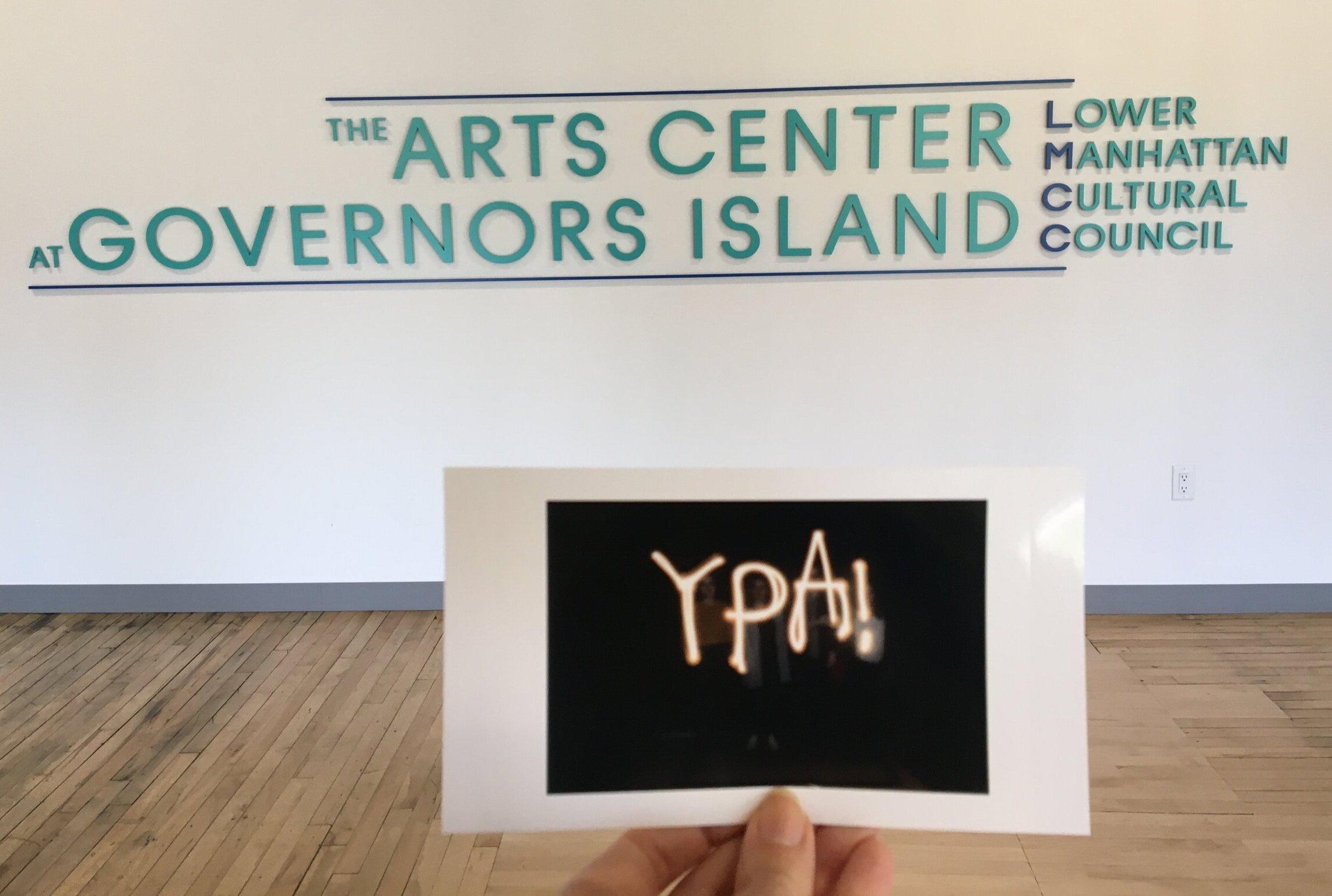 YPA at LMCC's Arts Center at Governors Island. Photo cred: Sarah Kearns