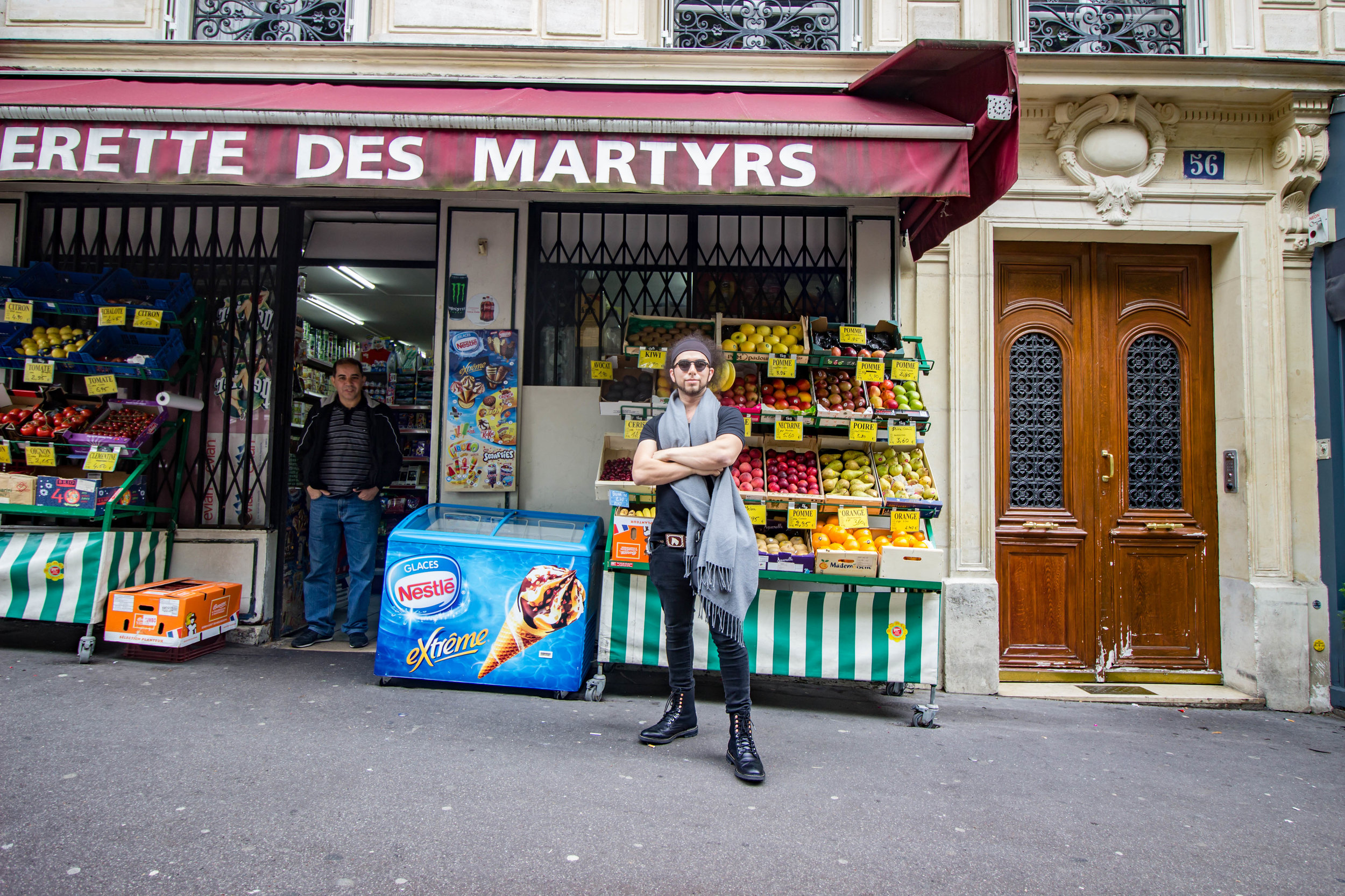 Friendly Parisian Market