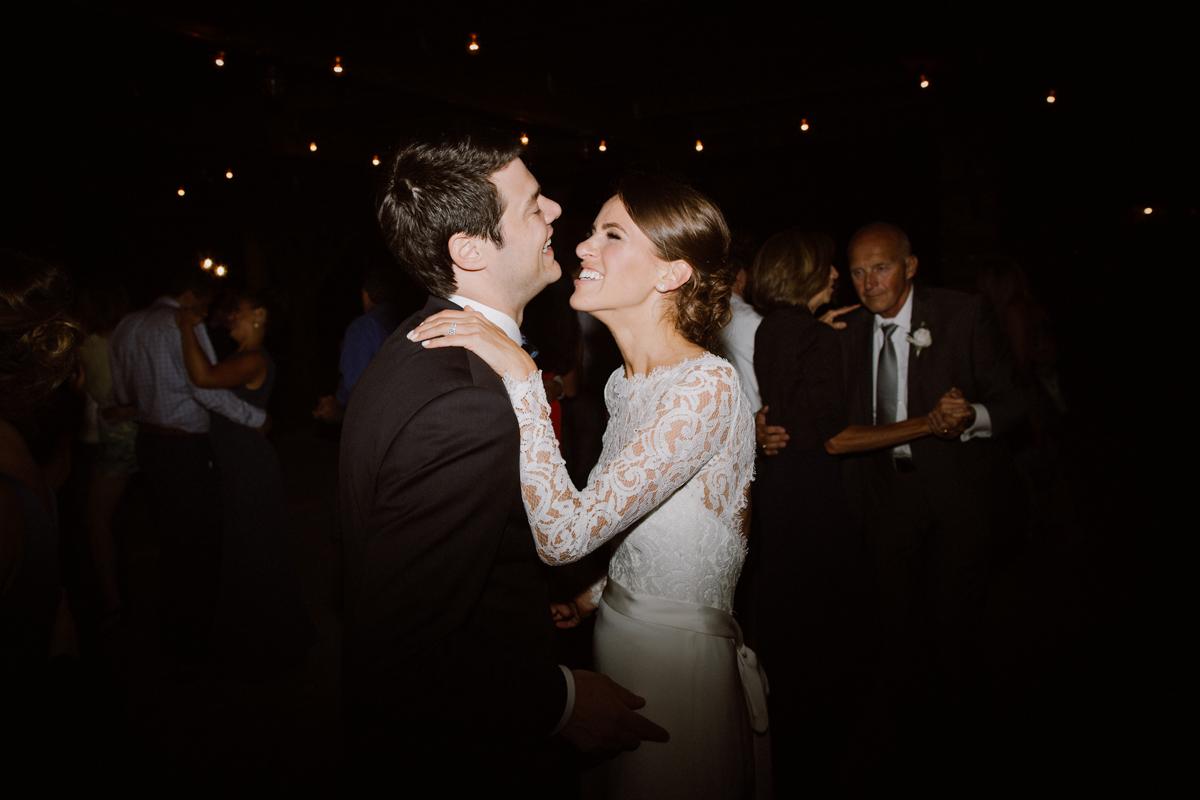 Adam & Betsy on the dance floor.