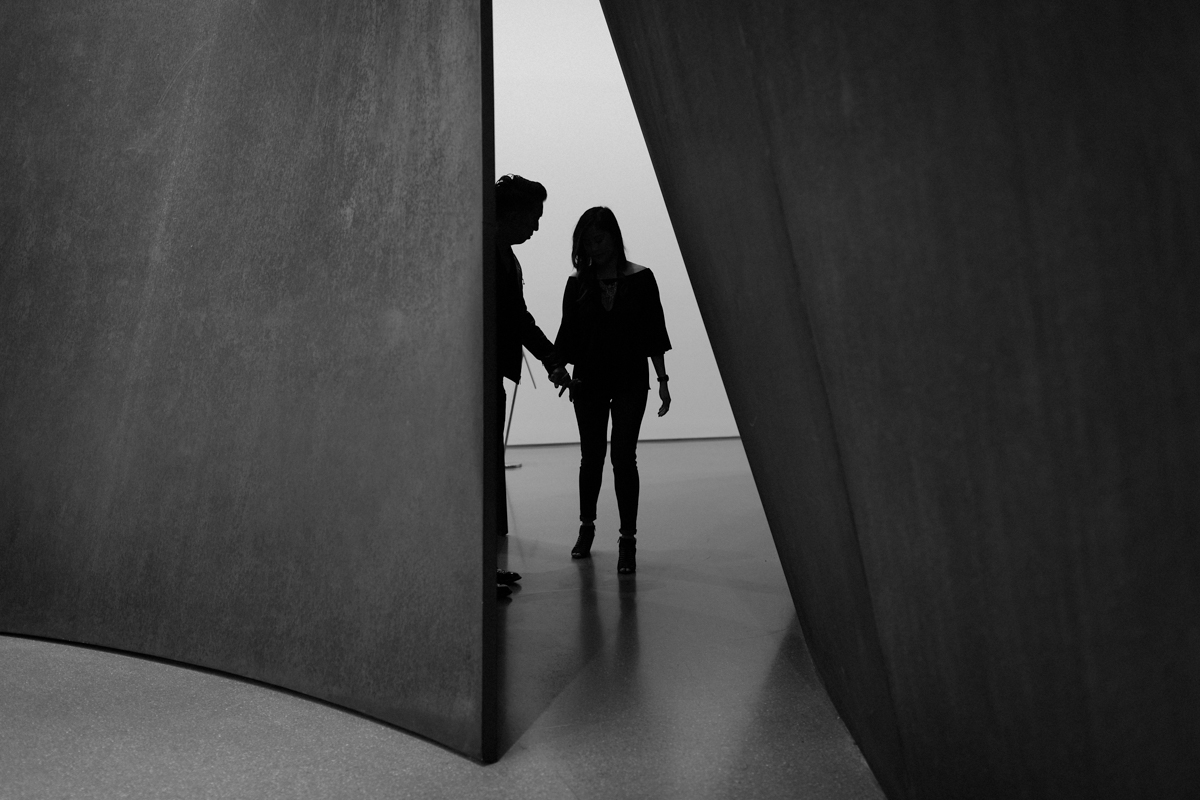 Polly and Ryan at SFMOMA