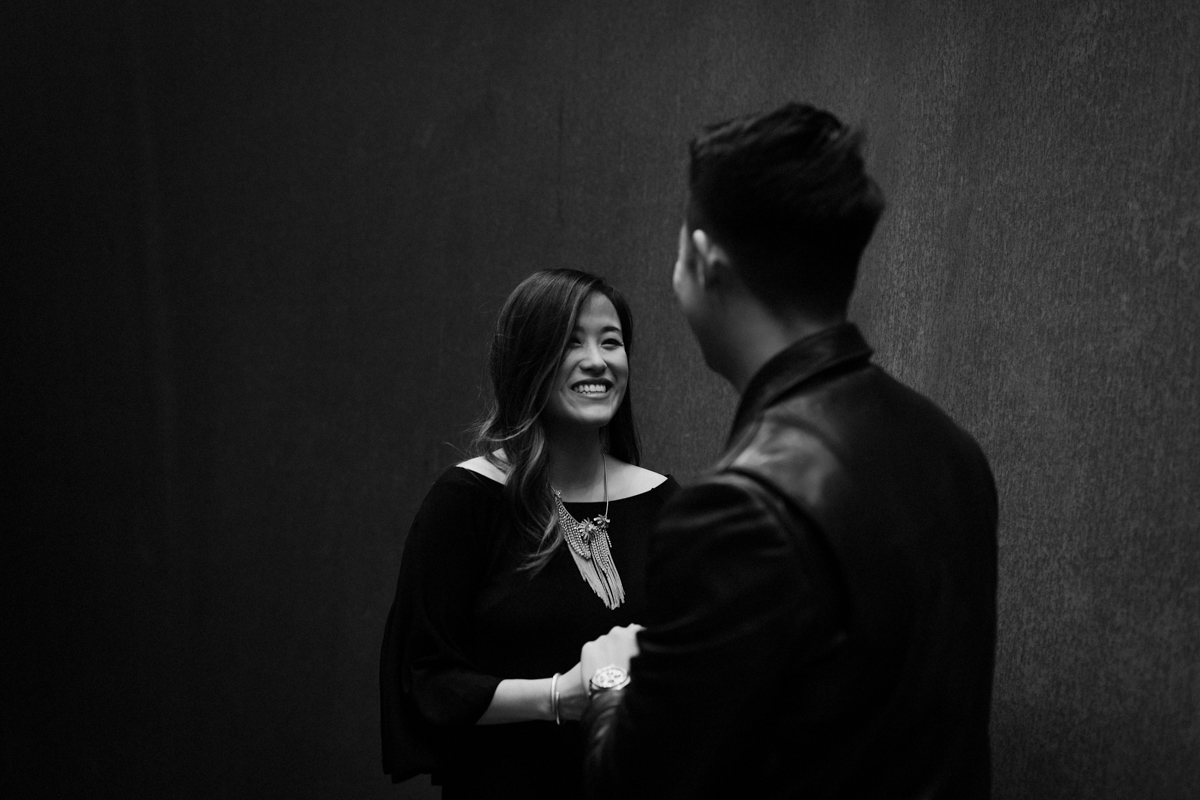 Fun SFMOMA engagement session