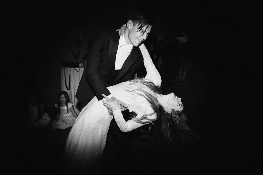 Ben Smith-Petersen & Riley Keough Wedding Dance