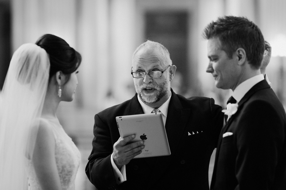SF City Hall wedding.